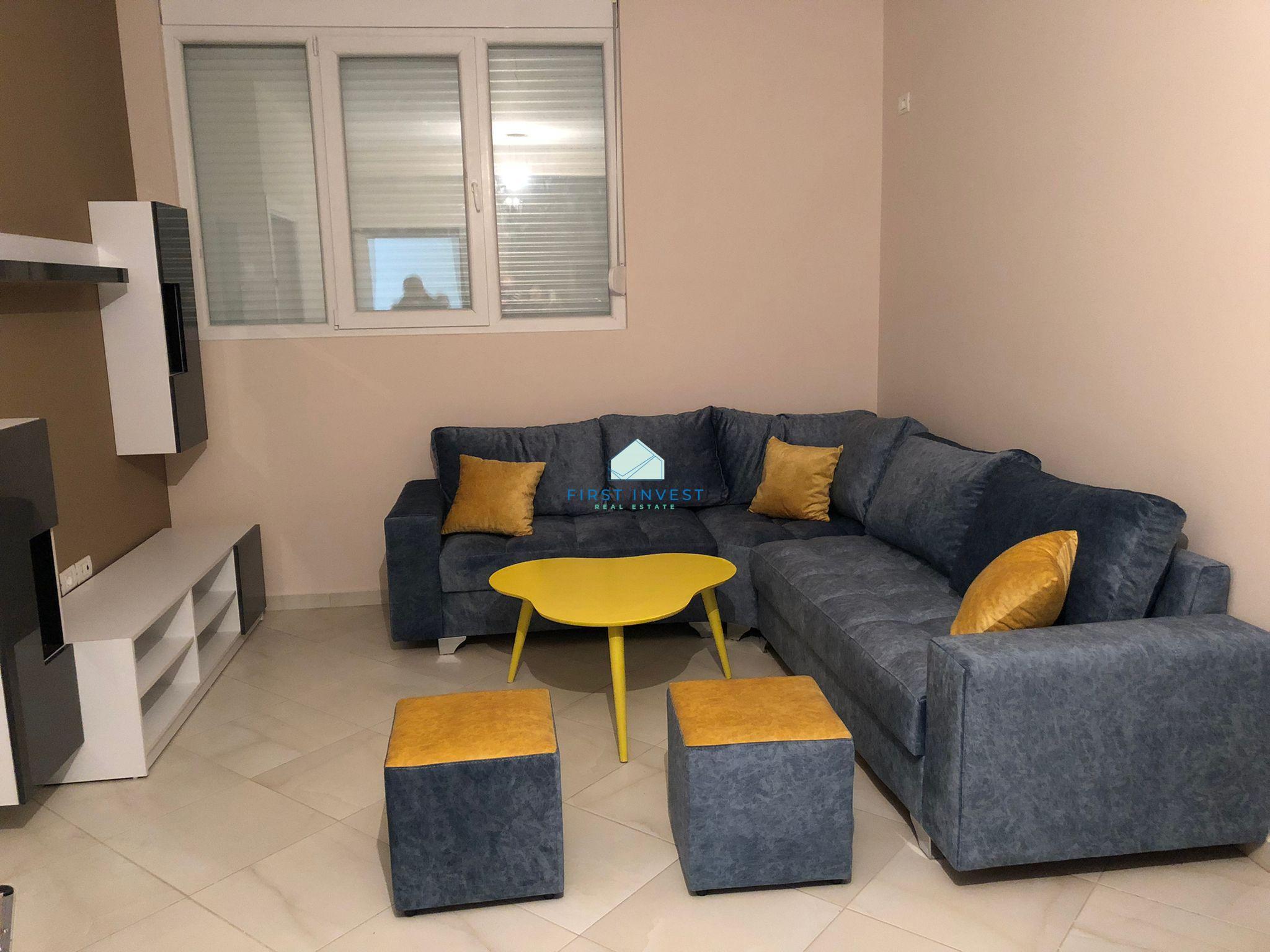 Apartament 1+1i mobiluar me qera